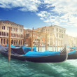 Gondolas in Venice, Italy. — Stock Photo #43131225