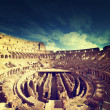 Inside of Colosseum in Rome, Italy — Stock Photo #45360601
