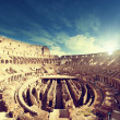 Inside of Colosseum in Rome, Italy — Stock Photo #45791427