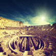 Inside of Colosseum in Rome, Italy — Stock Photo #46159471