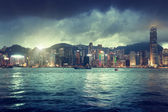 Skyline of Hong kong  — Stock Photo