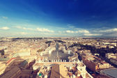 Saint Peter's Square in Vatican, Rome, Italy — 图库照片