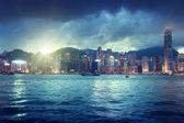 Skyline de hong kong — Foto Stock