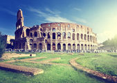 Colosseum in Rome, Italy — Stock fotografie