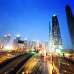 Shanghai lujiazui financial center, China — Stock Photo #50592301