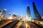 Shanghai lujiazui financial center, China — Stock Photo