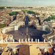 Vatican square of saint Peter — Stock Photo #51406365