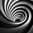 Stock Photo: Abstract Contrast Vortex