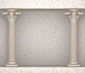 Classic Greek Pillar Background — Stockfoto