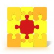 Simple Puzzle — Stock Photo #33156431