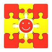 Smile Puzzle — Stock Photo