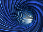 Blue Abstract Vortex Background — Stock Photo