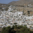 Greek town of Lindos — Stock Photo