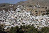 Greek town of Lindos — Stock Photo