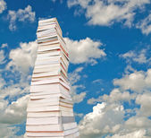 Stacks of the book — Foto de Stock
