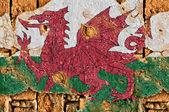 Grunge Flag Of Wales — Stock Photo