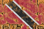 Grunge Flag Of Trinidad and Tobago — Stock Photo