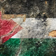 Grunge Flag Of Palestine — Stock Photo