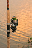 Fishing rod — Stock Photo
