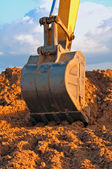 Excavator Loader Bucket — Stock Photo