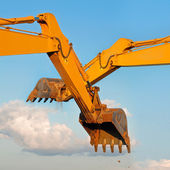 Excavator Loader Machine — Stock Photo