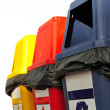 Colorful Recycle Bins — Stock Photo #44111189