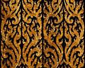 Pattern golden traditional thai style — Foto Stock