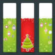 Royalty-Free Stock Vector Image: A set  of Christmas congratulation stickers
