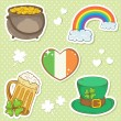 Saint Patrick — Stock Vector