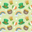 Stock Vector: Saint Patrick