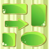 Emerald Saint Patrick — Stock Vector