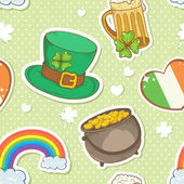 Saint Patrick — Vetorial Stock
