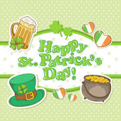 Saint Patrick — Vector de stock