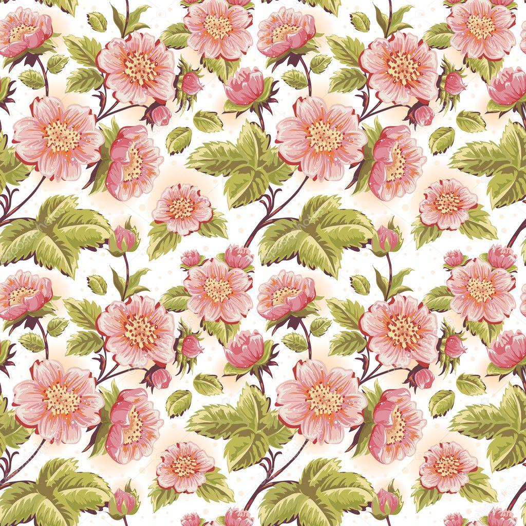 40 beautiful floral textures - photo #45