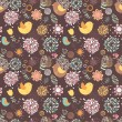 Summer lovely floral seamless pattern — Vettoriale Stock  #26304265