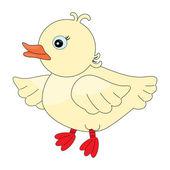 Cute duck pattern — Stock Vector