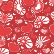 Hearts pattern seamless background — Stock Vector #16997403