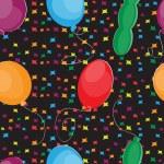 Happy Birthday seamless pattern — Stock Vector #30959223
