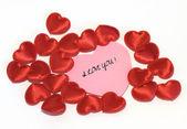 Vyznání lásky — Stock fotografie