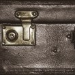 Detail of an old suitcase — Stock Photo