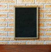 Chalk board — Stock Photo