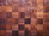 Mosaic of wood pieces — Photo