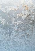 Frost window — Stock Photo