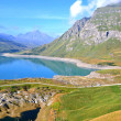 Stock Photo: Mount Cenis lake