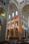 Laon cathedral — Stock Photo