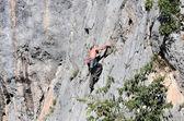 Free climber — Foto de Stock