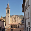 Cathedral of Spoleto — Stock Photo