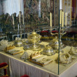 Stock Photo: Dining room at Chateau de Versailles