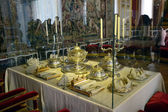 Dining room at Chateau de Versailles — Stock Photo