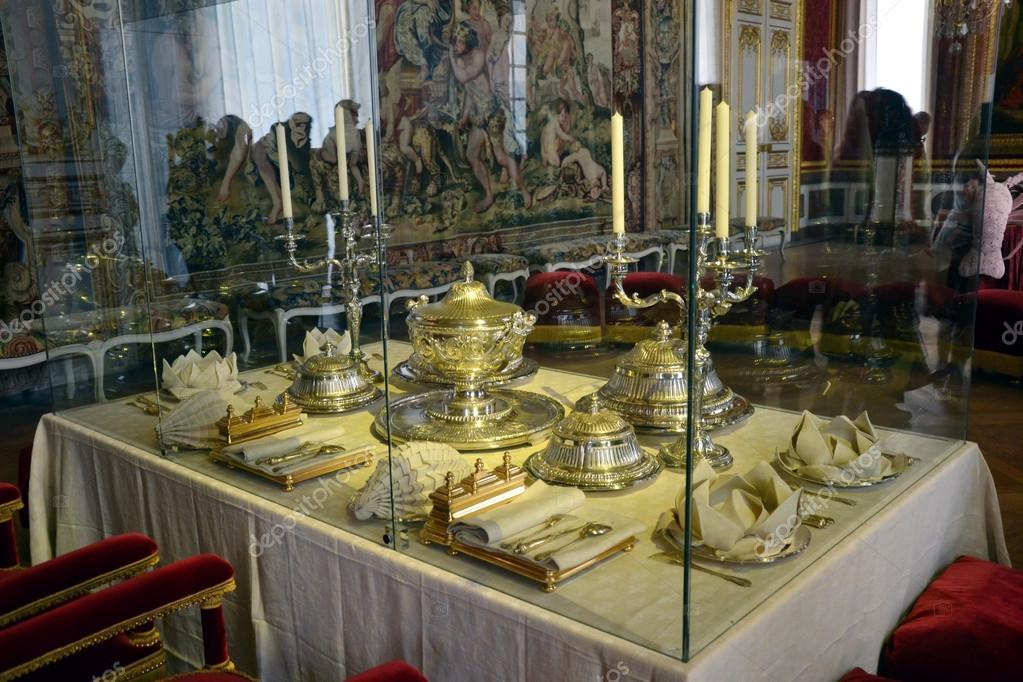 Salle Manger Au Ch Teau De Versailles Photographie